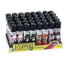 CLIPPER CLASSIC FLINT - COOL ANIMALS - 40 PACK