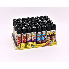 CLIPPER CLASSIC FLINT - HIPPIE GIRL 2 - 40 PACK