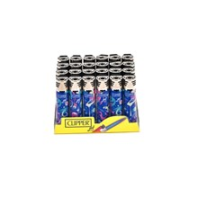 CLIPPER REFILLABLE JET FLAME -OUTER SPACE -24 PACK