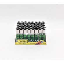 CLIPPER CLASSIC FLINT - WEED SILHOUETTES - 40 PACK