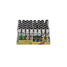 CLIPPER CLASSIC FLINT - LEAVES WORLD 2 - 40 PACK