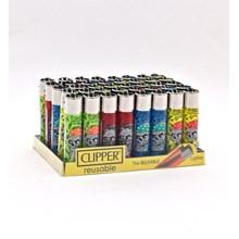 CLIPPER CLASSIC FLINT - DANGER SKULLS 1 - 40 PACK
