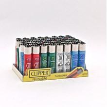 CLIPPER CLASSIC FLINT - ZODIAC ELEMENTS - 40 PACK