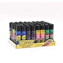 CLIPPER CLASSIC FLINT - EMOJI GAMING - 40 PACK