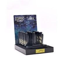 CLIPPER METAL FLINT - SAILOR - 12 PACK