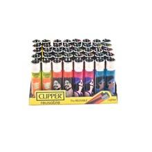 CLIPPER CLASSIC FLINT - HIPPIE PEACE 4 - 40PACK
