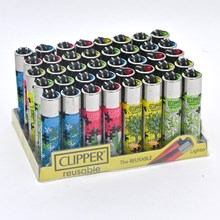 CLIPPER CLASSIC FLINT - WEED PUZZLE - 40PACK
