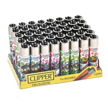 CLIPPER CLASSIC FLINT - SPRING MIX 3 - 40PACK