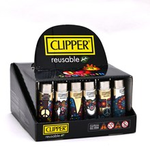 CLIPPER POP COVER CHIC - HIPPIE ELEMENTS - 30 PACK