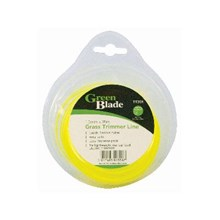3 x Green Blade Trimmer Strimmer Line 15m x 1.65mm