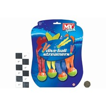M.Y. - 4 PCS DIVE BALL STREAMERS