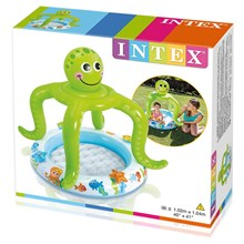 "INTEX SMILING OCTOPUS BABY POOL 40"" X 41"" 57115NP"