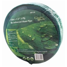 """GREEN BLADE - 15M 1/2"""" REINFORCED HOSE PIPE"""