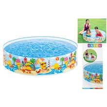 INTEX - DUCKLING SNAPSET POOL 4' X10' #58477NP