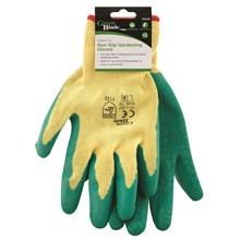 GREEN BLADE - NON SLIP LATEX GLOVES - XL