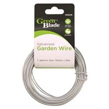 GREEN BLADE - GALVANISED GARDEN WIRE 1.6MM X 15M