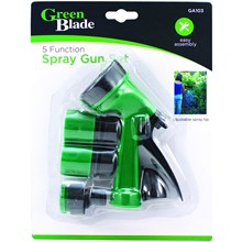 GREEN BLADE - 5 FUNCTION SPRAY GUN SET
