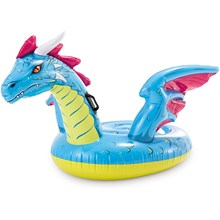 "INTEX - DRAGON RIDE ON 79"" X 75"" #57563NP"