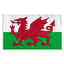 FLAG WALES - 5FT X 3FT