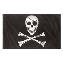 FLAG JOLLY ROGER - 5FT X 3FT