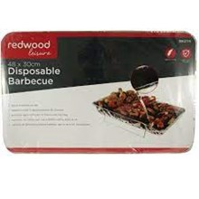 REDWOOD DISPOSABLE BBQ - 48 X 30CM