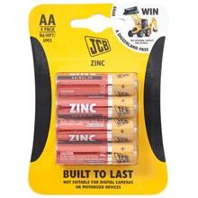 JCB ZINC AA - 4 PACK