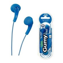 JVC GUMMY - BLUE EARPHONES