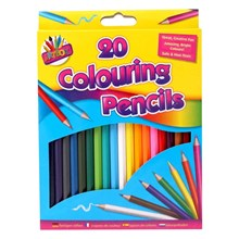 ARTBOX - COLOURING PENCILS - 20 PACK