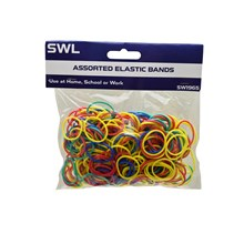 SWL - ASSORTED ELASTIC BANDS