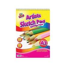 ARTBOX - A3 ARTIST SKETCH PAD - 20 SHEETS