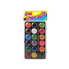 ARTBOX - WATER COLOUR PAINT SET - 18 PACK