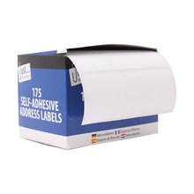 JUST STATIONERY - ADDRESS LABELS - 175 PACK