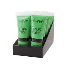 WORK OF ART - GREEN ACRYLIC PAINT - 120ML