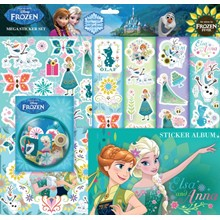 FROZEN MEGA STICKER SET