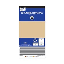 50 DL MANILA PEAL & SEAL ENVELOPES