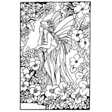 COLOURING BOARD WILD FAIRY 1