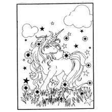 COLOURING BOARD RAINBOW UNICORN