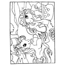 COLOURING BOARD PRERTY PONY MAIL