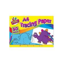 60 SHEETS A4 TRACING PAPER PAD