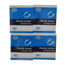 WILKO - HANDY JOTTER RULED 50 SHEETS - 24 PACK