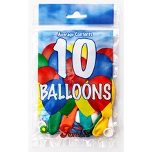 FANTASIA 40 X 10 BALLOONS IN DISPLAY BOX