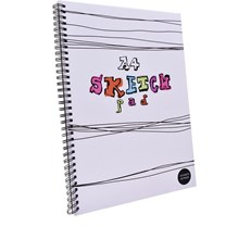 A4 SKETCH PAD - 60 PAGES