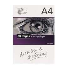 A4 HEADBOUND SKETCHPAD - 60 PAGES