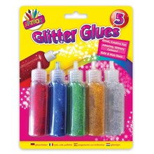 ARTBOX 5PC GLITTER GLUES