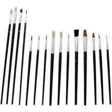 151 - ASSORTED ARTISTS PAINT BRUSHES - 10 PACK