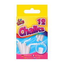 ARTBOX - WHITE CHALKS - 12 PACK