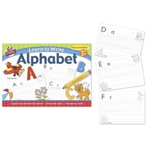 ARTBOX - LEARN TO WRITE ALPHABET