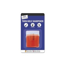 JUST STATIONERY - NO MESS TWIN HOLE SHARPENER