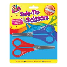 ARTBOX - SAFE-TIP SCISSORS - 2 PACK
