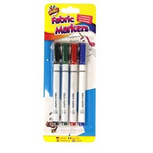 ARTBOX - FABRIC MARKERS - 4 PACK